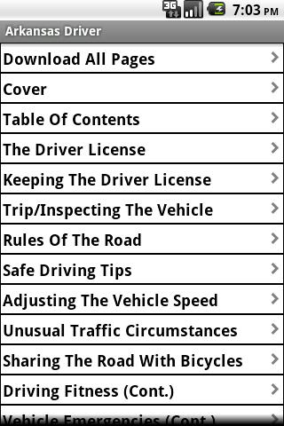 Arkansas Driver Study Guide