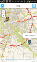 Screenshot of Italy Offline Road Map