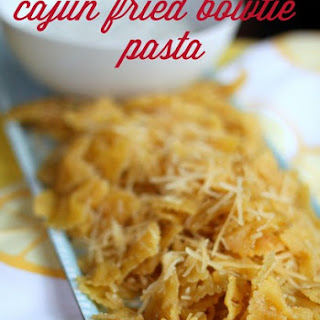 Cajun Fried Bowtie Pasta