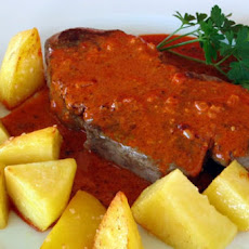 Filets Mignons with Creamy Paprika Sauce