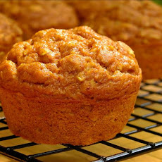 Low Fat Oatmeal Pumpkin Spice Muffins