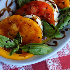 Caprese Salad with Burrata Cheese