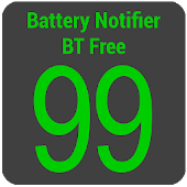 Free Battery Notifier BT Free APK for Windows 8