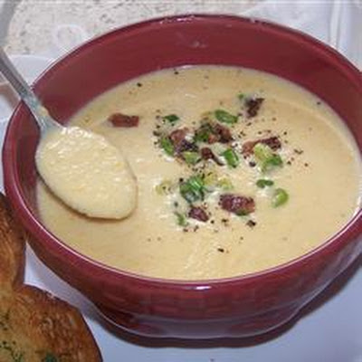 Cheese Beer and Vegetable Soup