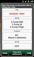 Screenshot of Hidden Menu Coffee Drinks