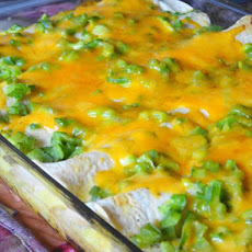 Make-Ahead Sausage and Egg Brunch Enchiladas