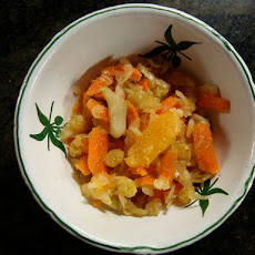 Fennel Slaw with 3 C's: Carrots, Clementines, and Cucumbers