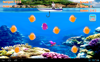 Screenshot of Crazy Fishing Joy