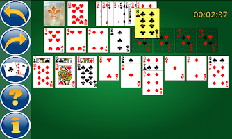Screenshot of Blondes & Brunettes Solitaire