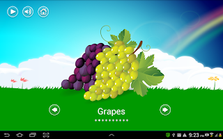 Screenshot of Kids Fruits Vegetables