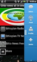 Screenshot of Ethiopian News