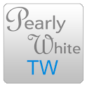 Pearly White TW ADW icon