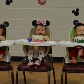 Triplets 1st birthday  by Missy Moss - Babies & Children Babies (  )