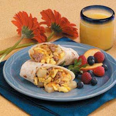 Breakfast Burritos for 2