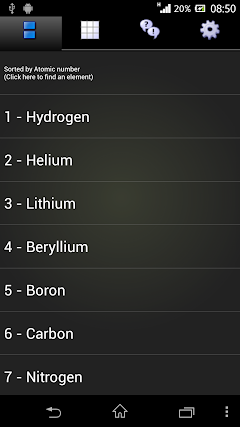 Best android apps for crystal structure androidmeta best periodic table free urtaz Image collections