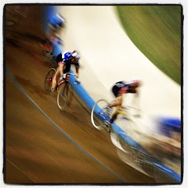 #frisco #velodrome #bicycle #race by Spacer Conrad - Sports & Fitness Cycling