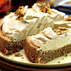 Walnut Torte with Coffee Whipped Cream