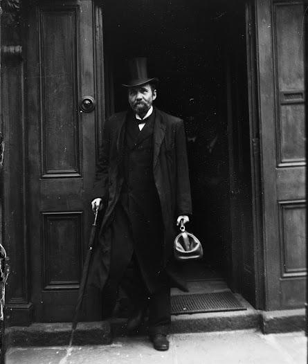 Doctor with Gladstone bag