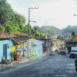 Papantla by Shane Adams - City,  Street & Park  Street Scenes ( papantla, mexico, street, scenic, travel, veracruz )