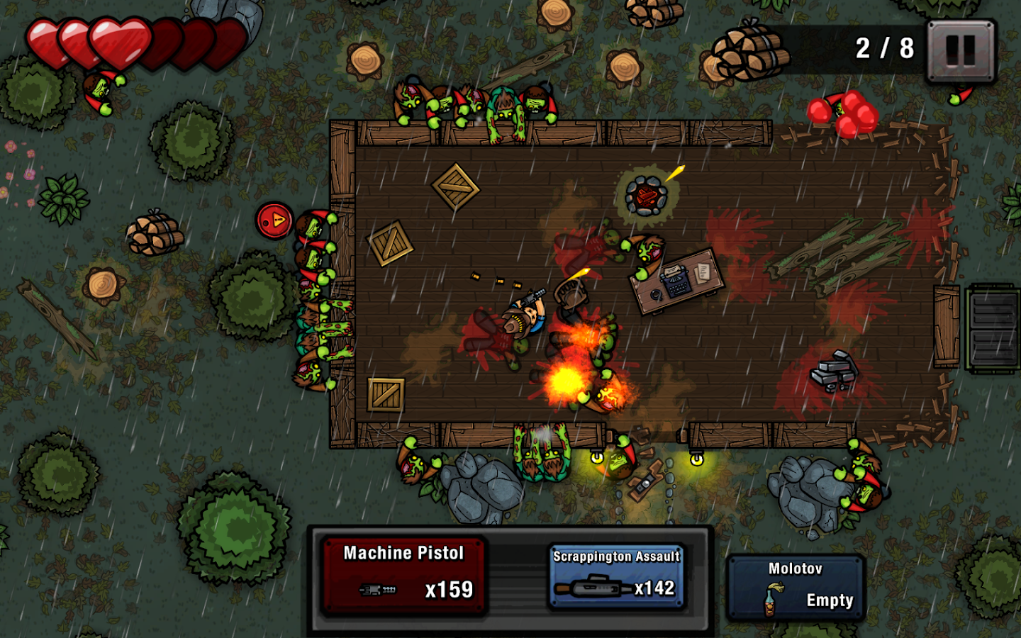Zombie Scrapper Screenshot 2