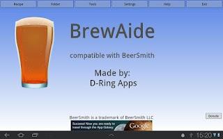 Screenshot of BrewAide