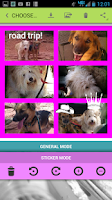 Screenshot of eCards & Collages