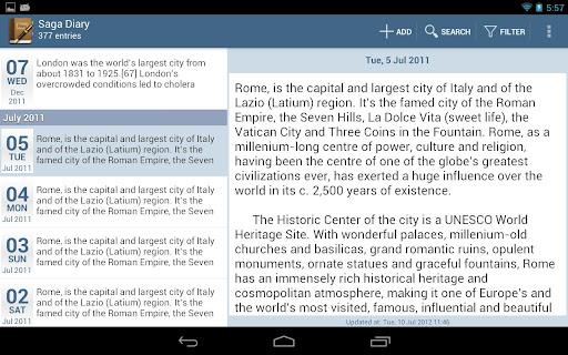 【免費生活App】Saga Diary-APP點子