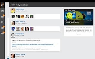 Screenshot of Viadeo
