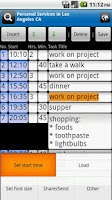 Screenshot of A2P Day Agenda Time Table Plan