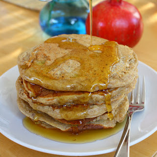 Whole Grain Pancakes with Buttermilk, Oatmeal and Banana