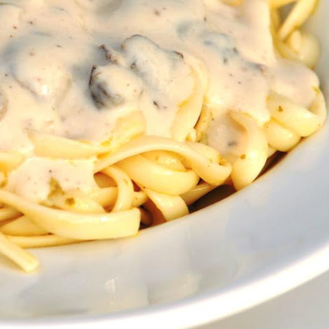 Vegan Mushroom Cream Sauce For Pasta
