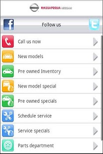 Massapequa Nissan Mobile - screenshot