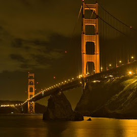 San Fransisco Golden Gate Bridge from the North side. by Patrick Flood - Landscapes Travel