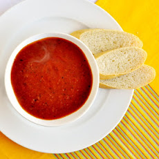 Roasted Tomato Fennel Soup