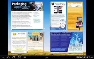 Screenshot of AgentBase Magazine - Free