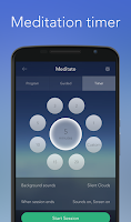 Screenshot of Calm - Meditate, Sleep, Relax