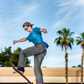 Erickson by Pascal Puente - Sports & Fitness Skateboarding ( canon, skateboarding, skate, strobist, skateboard )