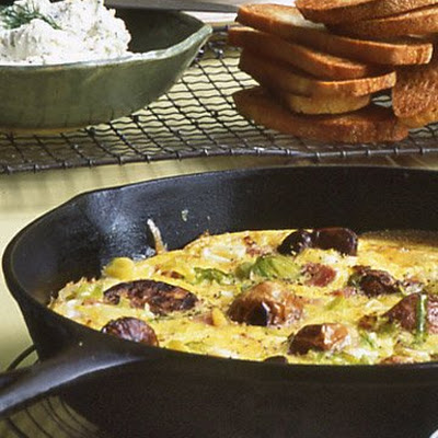 Ham and Leek Frittata
