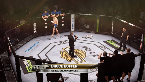 EA Sports UFC takes to the retail Octagon today in Europe