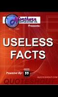 Screenshot of Useless Facts 2012 - Free