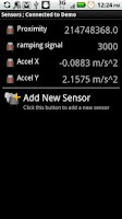 Screenshot of Sensor Spy FREE