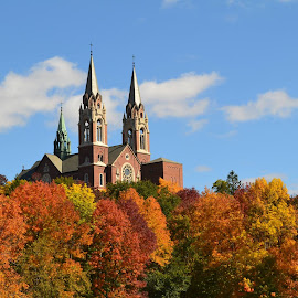 Holy Hill by Cheri Bowers - Buildings & Architecture Places of Worship
