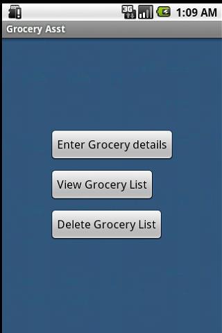 Grocery Asst