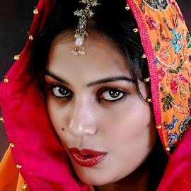 Beauty Spot #3 by Rakesh Syal - People Portraits of Women