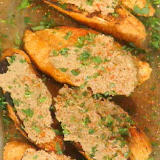 Crostini with Chicken Livers: Crostini di Fegatini