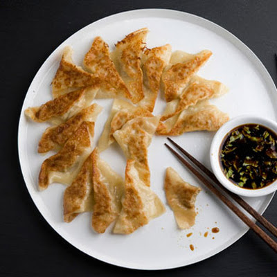 Chicken and Celery Pot Stickers