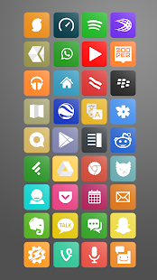Light Washed (Nova Apex Icons) - screenshot