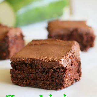 Applesauce Zucchini Brownies Recipes