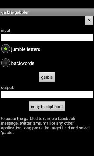 garble-gobbler
