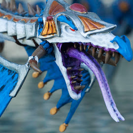 Dragon head by Valics Lehel - Artistic Objects Toys ( macro, warhammer, dragon, painting, miniature,  )